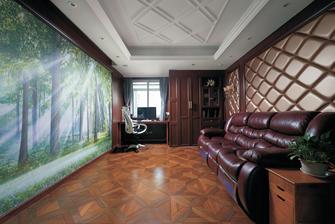 140平米四室两厅欧式风格影音室装修效果图
