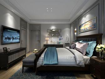 豪华型140平米别墅混搭风格卧室图