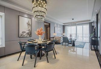 10-15万110平米四室一厅中式风格餐厅欣赏图