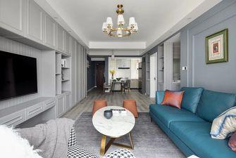 经济型80平米一室一厅轻奢风格客厅装修效果图