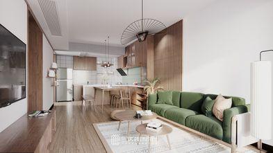 80平米日式风格客厅效果图