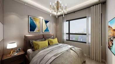 富裕型80平米三室两厅港式风格卧室图片