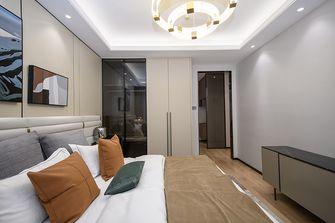 富裕型一室两厅轻奢风格卧室装修案例