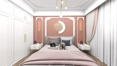 5-10万140平米三室两厅法式风格卧室装修案例