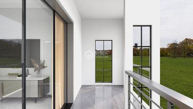 100平米三室两厅美式风格阳台设计图