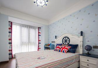 130平米三室两厅田园风格卧室装修案例