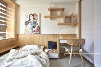 富裕型120平米三室两厅日式风格卧室欣赏图