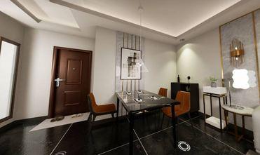 50平米一居室轻奢风格餐厅设计图