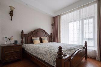 富裕型110平米三室两厅美式风格卧室效果图