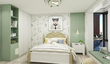 90平米三室两厅现代简约风格青少年房图片