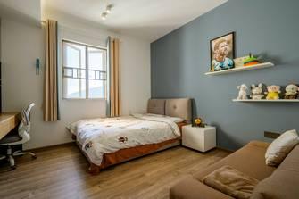豪华型140平米三室两厅港式风格卧室效果图