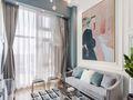140平米三室三厅日式风格客厅欣赏图