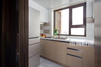 10-15万50平米一居室轻奢风格厨房设计图