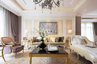 富裕型140平米四室两厅欧式风格客厅图片大全