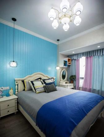 富裕型100平米三室两厅地中海风格卧室装修案例