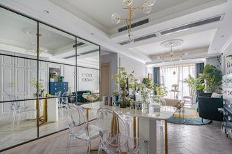 90平米三室两厅法式风格餐厅装修图片大全