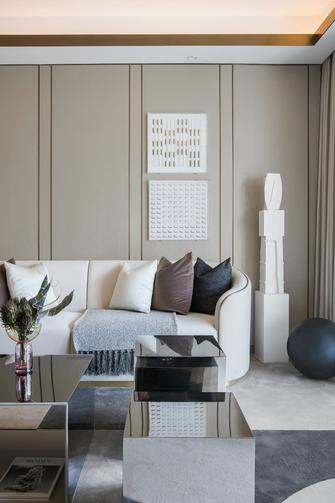 富裕型100平米三法式风格客厅图片