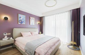 富裕型140平米三北欧风格卧室装修图片大全