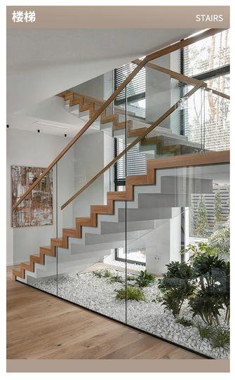 豪华型140平米四轻奢风格楼梯间装修案例
