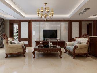 20万以上140平米三室两厅新古典风格客厅图