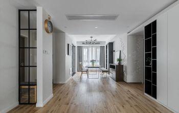 经济型130平米四室一厅美式风格玄关设计图