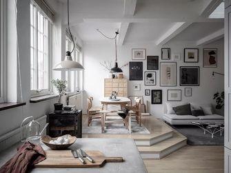 经济型60平米公寓欧式风格餐厅图片