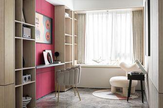 豪华型140平米三室两厅混搭风格书房图片大全