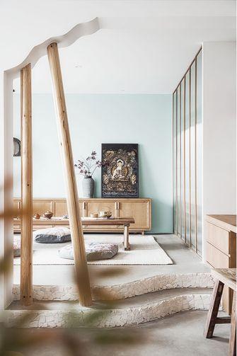20万以上140平米三室两厅混搭风格青少年房装修图片大全