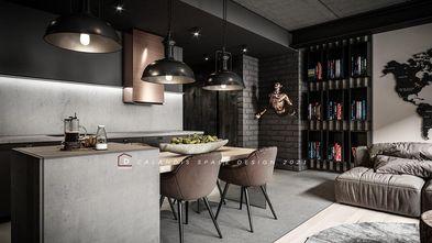 20万以上140平米四室两厅工业风风格餐厅图片大全