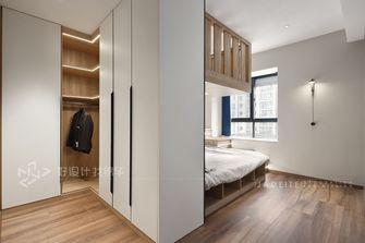140平米三室四厅现代简约风格卧室图片大全