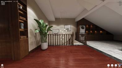 3万以下140平米别墅中式风格楼梯间图片