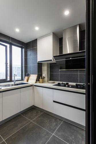 豪华型110平米四室两厅轻奢风格厨房图