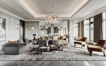 130平米四室两厅法式风格客厅装修效果图