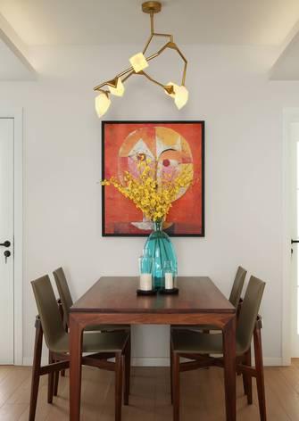 富裕型一室一厅北欧风格餐厅装修图片大全