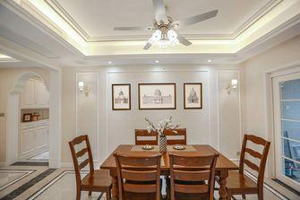 20万以上140平米三室两厅美式风格餐厅装修案例