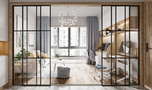 豪华型130平米三室两厅美式风格阳台欣赏图