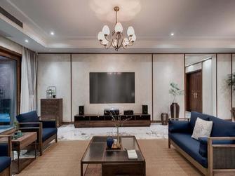富裕型90平米中式风格客厅图片大全