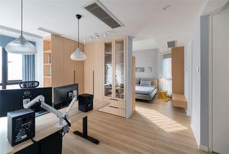 15-20万140平米三室两厅北欧风格书房图