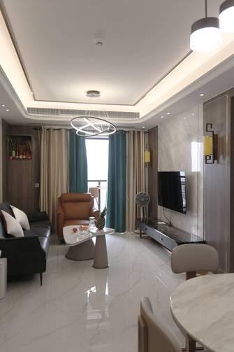 100平米三轻奢风格客厅设计图