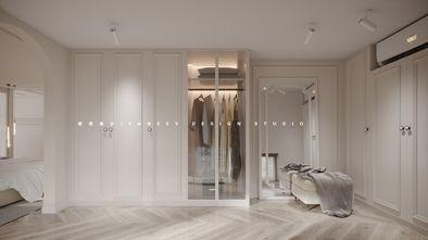 豪华型80平米公寓法式风格衣帽间装修案例