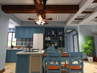 富裕型80平米三地中海风格厨房效果图