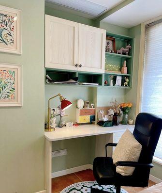 经济型80平米三室一厅田园风格卧室装修案例