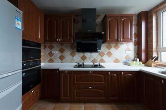5-10万60平米一室一厅美式风格厨房设计图