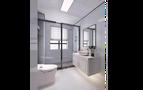 经济型100平米三室一厅欧式风格卫生间图