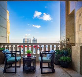 20万以上140平米复式美式风格阳台装修案例