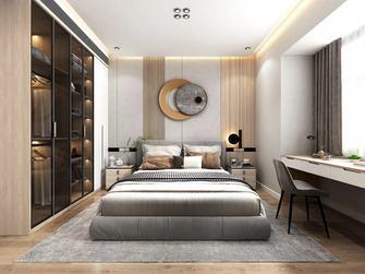 130平米四室一厅轻奢风格卧室装修图片大全
