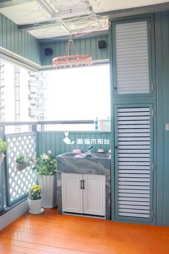 美式风格阳台设计图