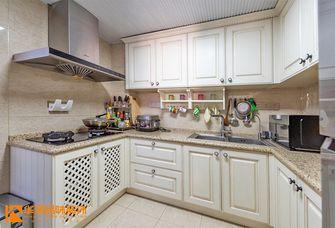豪华型130平米三室两厅美式风格厨房效果图