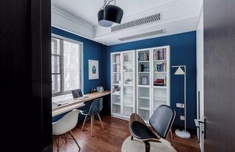 15-20万120平米三室两厅北欧风格书房设计图