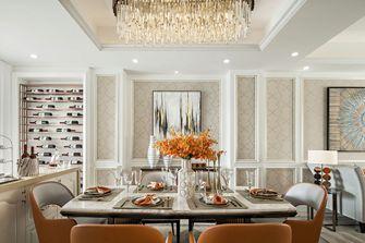 20万以上140平米复式美式风格餐厅欣赏图